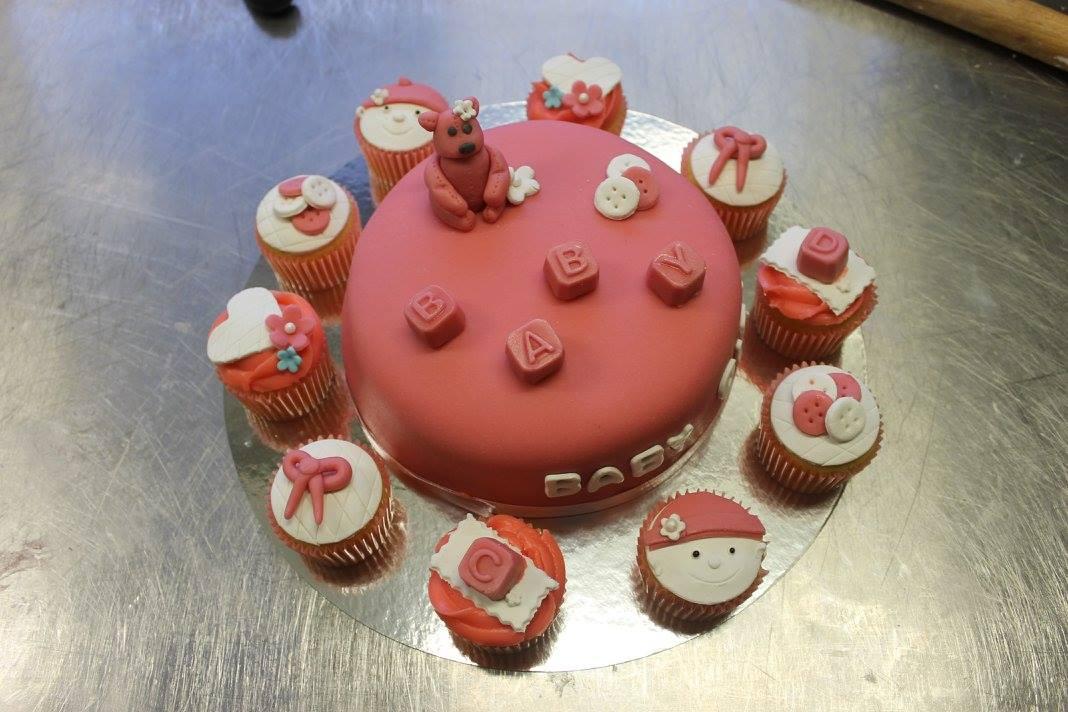 Babyshower Med Cupcakes